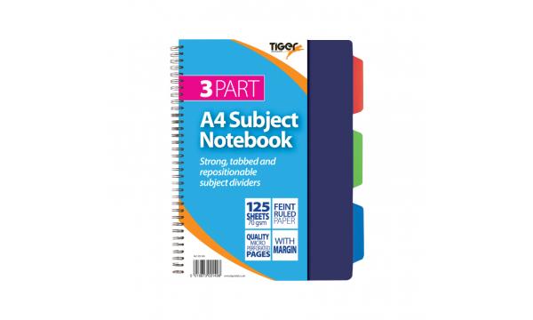 Subject Divider Notebooks